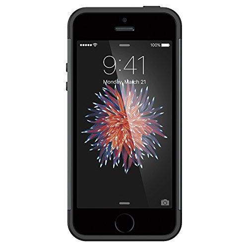 Coque iPhone SE, Spigen Coque iPhone 5S / 5 [Slim Armor] Coussin d'air [Metal Slate] Coussin d'Air aux Coins/ La Protection de Double Couche Coque Apple iPhone 5 / 5s / iPhone SE (2016) - (SGP10365) Gris