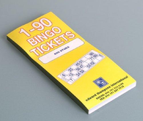 Bingo-Block, 600 Blatt (1-90)