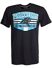New Era CHEVRON Shirt - NFL Carolina Panthers schwarz