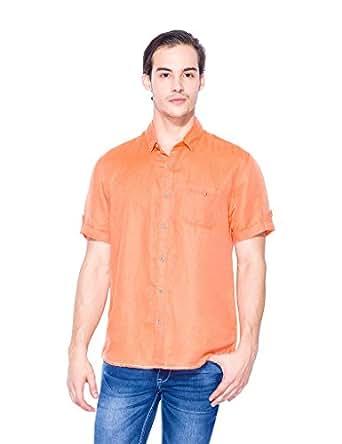 Mufti Blended Shirt MFS-6427-B-56-ORANGE