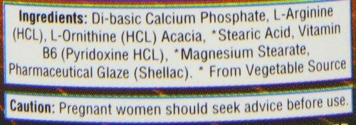41HTAlLd9VL - HealthAid L-Arginine with L-Ornithine 300mg - 60 Tablets