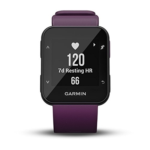 41HTAzq %2BHL. SS500  - Garmin Forerunner 30 GPS Running Watch with Wrist Heart Rate, Amethyst