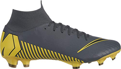Nike Herren Mercurial Superfly VI AG PRO Fußballschuhe, Weiß (White/Chrome-Total O 107), 43 EU