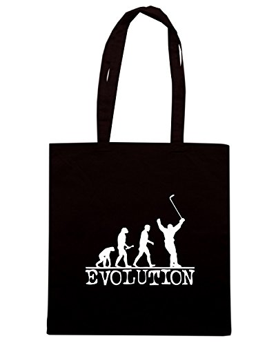 T-Shirtshock - Borsa Shopping OLDENG00482 evolution hockey Nero