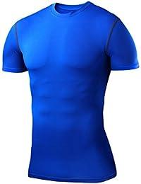 PowerLayer - T-shirt de compression à manches courtes base layer - thermique - tailles homme/garçon