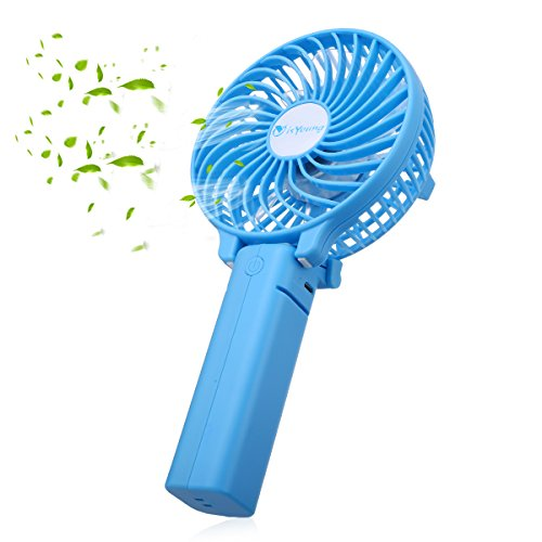 isYoung Mini Ventilateur Portable Mini Fan Pliable...