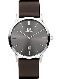 Danish Design Unisex-Armbanduhr DANISH DESIGN IQ18Q1118 Analog Quarz Leder IQ18Q1118