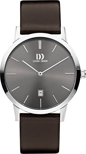 Danish Design Montre bracelet Mixte Danish Design iq18q1118 à quartz analogique cuir iq18q1118