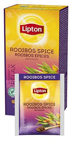 Lipton aromatisierter Rooibos Tee (dezente Gewürznote) 6er Pack (6 x 25 Teebeutel)