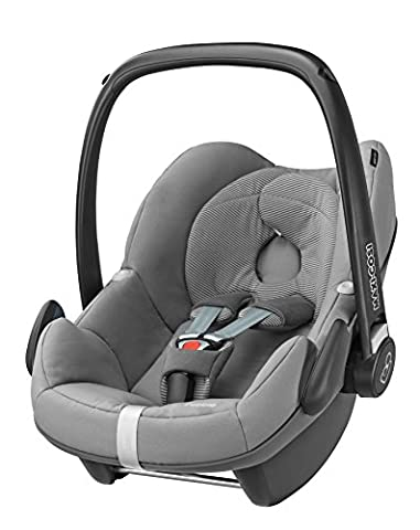 Maxi-Cosi Pebble, Babyschale Gruppe 0+ (0-13 kg), concrete grey, ohne Isofix-Station