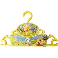 Rotho Babydesign 20422 0077 54 Kleiderbügel Disney - Winnie the Pooh, 3 Stück, groß