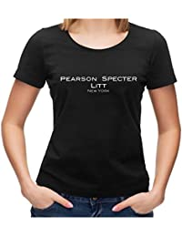 Pearson Specter Litt Suits Fan T-Shirt Fanshirt Logo TV-Serie Anwaltskanzlei