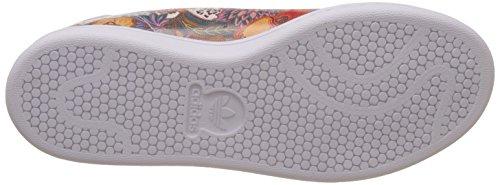 adidas adidasStan Smith W - Scarpe da Ginnastica Basse Donna Multicolore (Ftwwht/ftwwht/owhite)