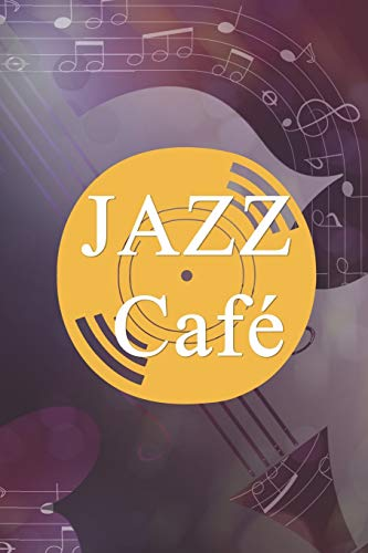 Jazz Café: Blank Lined Notebook ( Jazz ) Purple