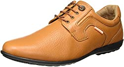 Red Chief Mens Tan Leather Formal Shoes - 6 UK/India (40 EU) (RC1329A)