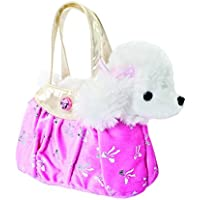 Fancy Pal Borsa con barboncino, 20,5 cm Colore Rosa