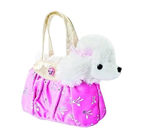 Aurora Fancy Pals Hund Chihuahua Pudel Schimmer-Tasche Mädchen Plüsch Stofftier: