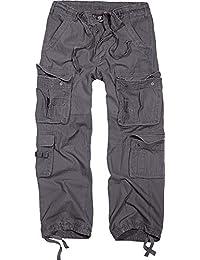 Brandit Pure Vintage Trouser - Pantalon Homme Pantalon De Combat - Anthracite M