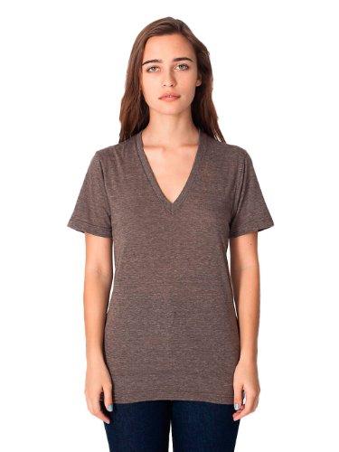 American Apparel -  T-shirt - Uomo TRI COFFEE