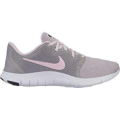 Nike Damen WMNS Flex Contact 2 Leichtathletikschuhe, Mehrfarbig (Atmosphere Grey/Pink Foam/Black/White 013), 40.5 EU (Nike Schuhe Flex Trainer)