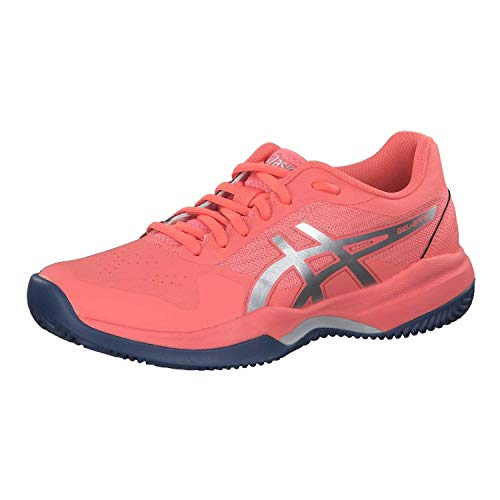 ASICS Gel-Game 7 Clay/OC, Scarpe da Tennis Donna, Rosa (Papaya/Silver 704), 38 EU