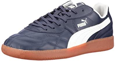 Puma Esito Classic Sala 102549, Herren Sportschuhe - Indoor, Blau (navy-whisper white 05), EU 40 (UK 6.5) (US 7.5)