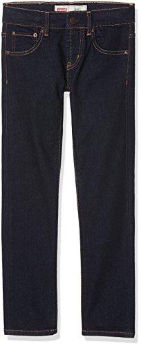 Levi's Kids Skinny Fit N92223B - Vaqueros para niños, Azul (INDIGO 46), 8 años (128 cm)