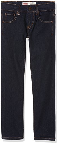 Levi's Kids Jungen Pant NOS-510 Jeanshose, Blau (Indigo 46), 164 (Herstellergröße: 14A)