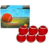 QUINERGYS Hand-Crafted Cricket Ball- Hard Pro Tennis Ball