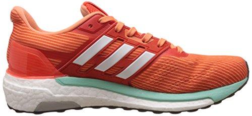 adidas Supernova Glide 9, Chaussures de Running Entrainement Femme Orange (Energi/ftwbla/narsen)