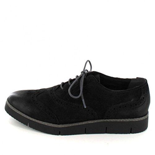 Oxfords Femme 23724 Marco Tozzi Premio Black Antic Iwq1tav