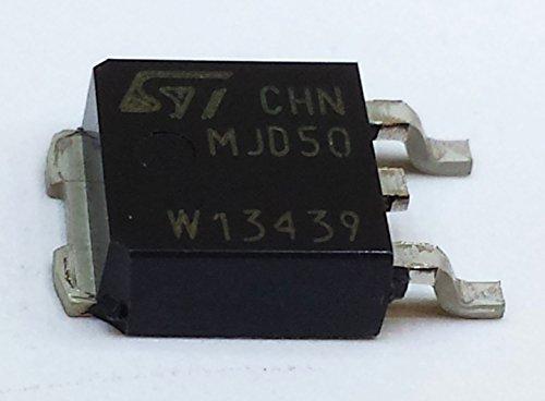 10 Stück MJD50 HIGH VOLTAGE FAST-SWITCHING NPN POWER TRANSISTOR | 1A | Vceo 400V | Vcbo 500V | Ptot 15W | DPAK (TO-252) Gehäuse -