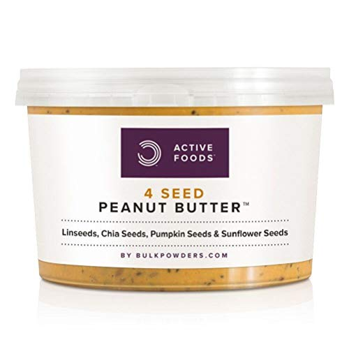 Natural 4 Seed Peanut Butter, 500 g