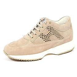 1152J Sneaker Donna Beige HOGAN Interactive Scarpe H Lamina Shoe Woman 40
