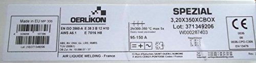 Varilla electrodo Oerlikon especial 3.2x 350mm 125unidades)