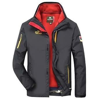 2e29e7ce34f ... Jackets  World2home Men s 2-in-1 Fit Windbreaker Winter Rain Jacket  (Standard)