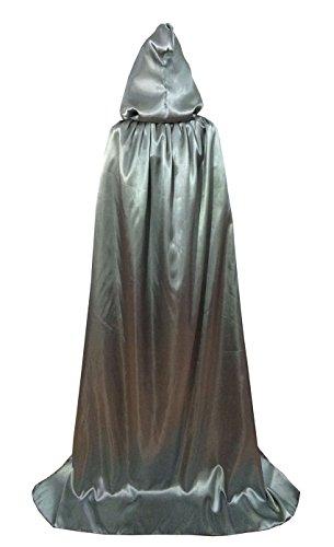 ne Kinder Mantel Unisex Umhang mit Kapuze Halloween-Kostüm Karneval Fasching Kostüm Cape mit Kapuze (Date-halloween-kostüme)