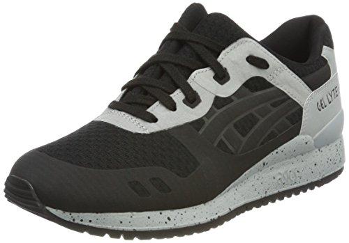 Asics Unisex-Erwachsene Gel-Lyte III NS Sneakers, Schwarz (Black/Black), 41.5 EU Einfache Geist Schuhe Für Frauen