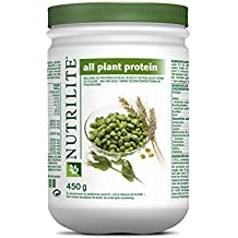 Amway Nutrilite All Plant Protein Powder Provides a Natural By Amway : Net Wt. 450