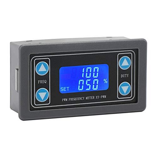 Droking PWM-Signalgenerator, 1Hz ~ 150kHz einstellbar Pulsfrequenzverhältnis Duty Cycle PWM-Modul 3,3-30 V 12 V / 24 V Rechteck-Rechteckgenerator LCD-Anzeige - Anzeigen Oz