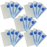 Klerokoh Space Saver Bags, kostenlose Handpumpe für die Reise Premium-Vakuum-Aufbewahrungsbeutel mit 20 Stück