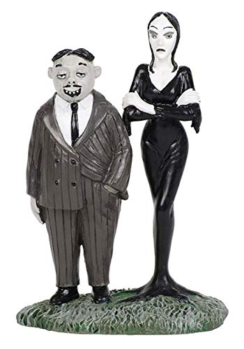 ENESCO Addams Family Gomez and Morticia Collectible Standard