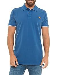 Lonsdale Polo Shirt Homme Manche Courte Lion Logo