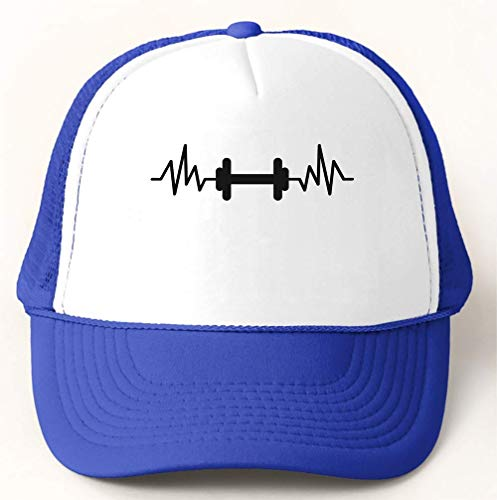 graphke Frequency Dumbbell Cardio Fitness Gym Berretto da Baseball Trucker  Hat