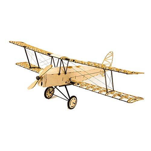 LaDicha De Havilland Tiger Moth X10 400Mm Spannweite Rc Flugzeug Statisches Modell Unmontiert