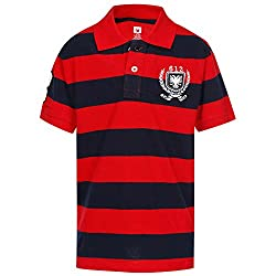 612 League Boys T-Shirt (ILW17I16002H_Red_4-5 Years)