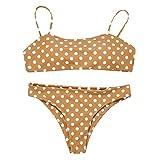 CICIYONER Strandanzüge Frauen Damen Bikini Set Schwimmen Zweiteiler Badeanzüge Bademode S-L