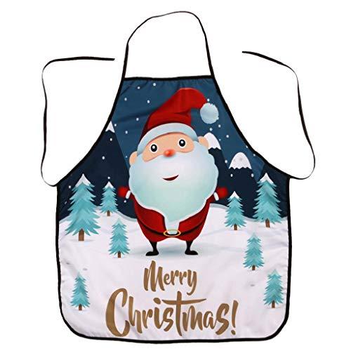 Weihnachten Schürze Party Dinner Wasserdichte Merry Christmas Festliche Weihnachtsdekoration Kochschürze Latzschürze Kochen Küche Schürze BBQ Weihnachten Geschenk Neuheit für Kinder Frauen Männer