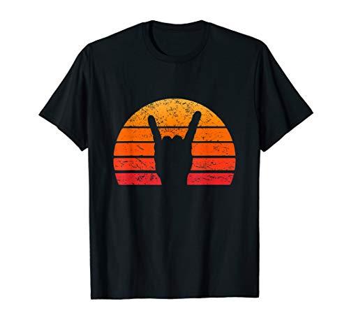 Retro Sonne Rock Hand TShirt Punk Rocker Musik Festival Shir - Retro-punk-rock-shirt