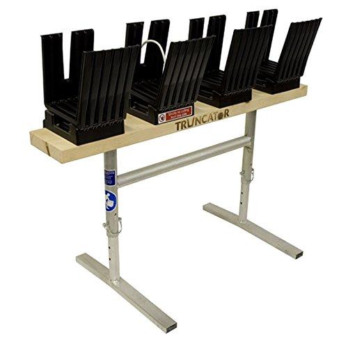 Vu Log cheval de bois Banc Table Support pour scie à chaîne Truncator Metal